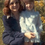 me & mom, back in the day