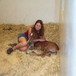 me and foal