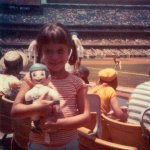 me at dodger game